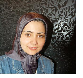 Artist Soheila Esfahani