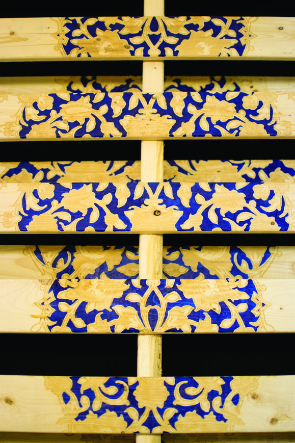Soheila Esfahani Cultured Pallets Persian detail 2