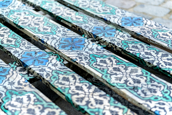 Soheila Esfahani Cultured Pallet FMC detail
